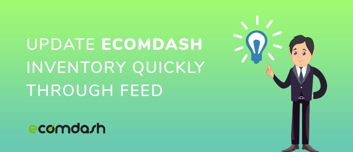 update ecomdash inventory