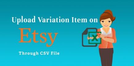 upload variation item on etsy