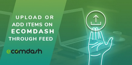 Add items on ecomdash