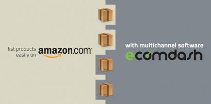 Upload product easily on Amazon Catalog from Ecomdash