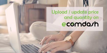 Upload / update price and quantity on Ecomdash in Bulk