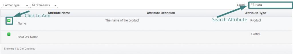 import/ export Format