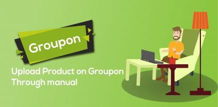 Groupon Product Upload Through Manual