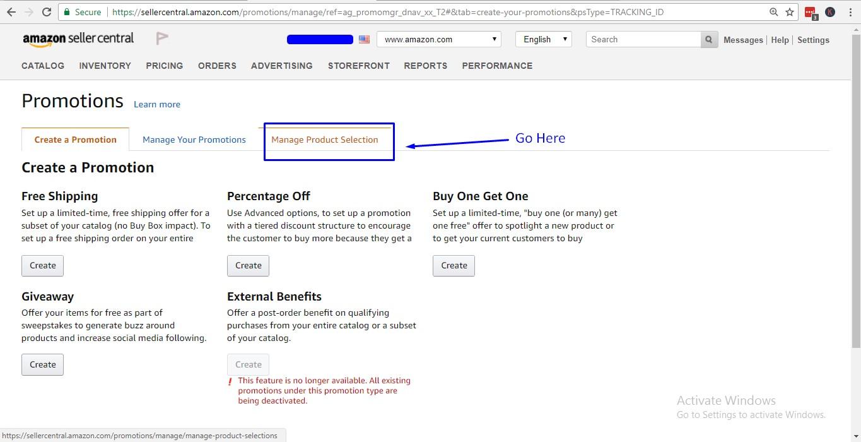 amazon conditional discount