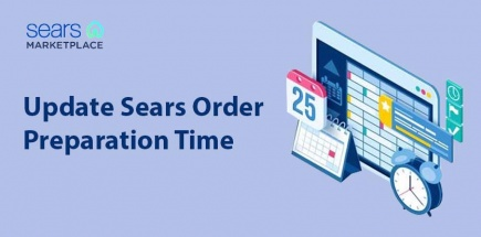 How to Update Sears Order Preparation Time/Lead Time/Handling Time