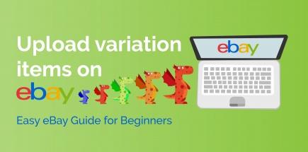 Upload variation items on eBay Easy eBay Guide for Beginners