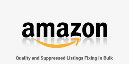 Amazon Quality and  Suppressed Listings Report and Fixing Bulk
